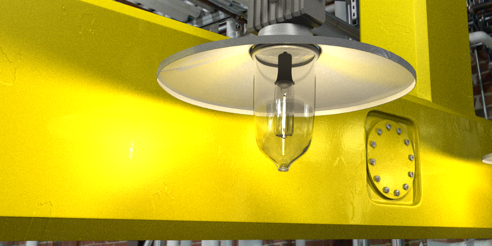 Better lamp with Photon Mapping