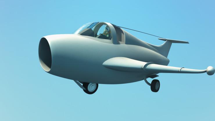 Jet in Enki Bilal style!